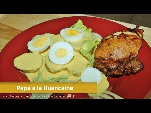 PAPA A LA HUANCAINA - COCINA PERUANA - RECETA FACIL