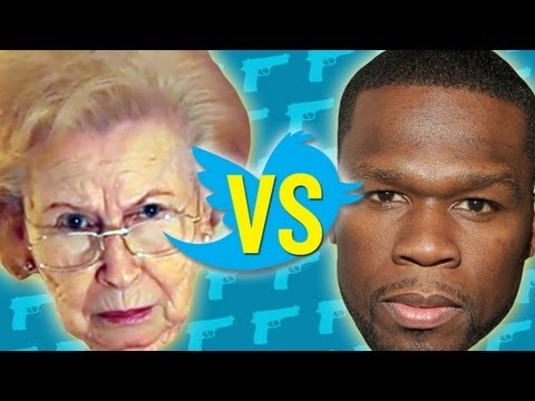 Grandma Reads 50 Cent s Tweets - Boo Ya Pictures