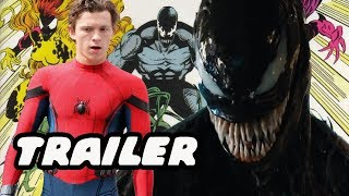 Venom Trailer! Lethal Protector Peter Parker And Five Symbiotes!