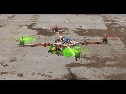 Super Simple X-Quad Quadcopter Build