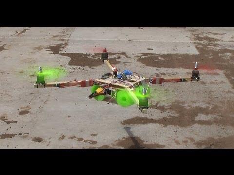 Super Simple X-Quad Quadcopter Build