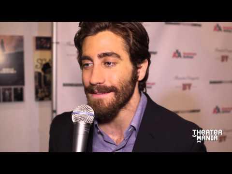 Jessica Chastain, Tony Roberts, Rachel York at Jake Gyllenhaal's New York stage debut