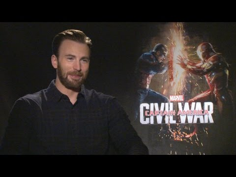 Chris Evans on 'Captain America: Civil War', His Marvel Contract and Casting Spider-Man
