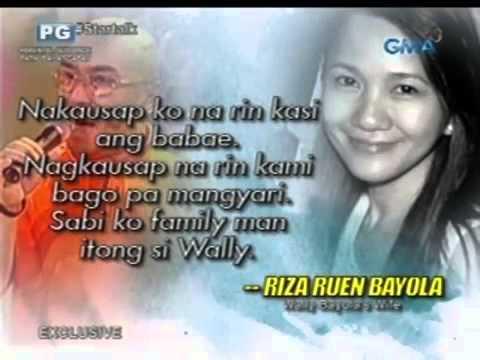 Startalk  Ang exclusive interview sa asawa ni Wally Bayola