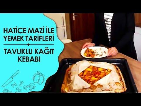 Tavuklu Kağıt Kebab Tarifi
