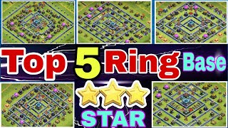 TH13 Most Popular 5 Ring Base 3 Star Attack 2020 | Top Ring Base 3 Star Attack Strategy