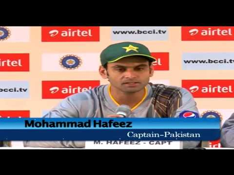 India vs Pakistan T20 at Bangalore: Mohammad Hafeez pre-match press conference