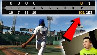 Is it Possible To Win A Game 100-0? MLB The Show 17 Challenge