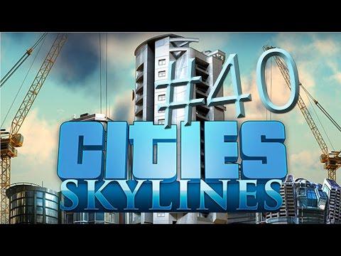 Let's Play Cities Skylines - Part40 - Harbor Bridge