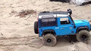 Rc Scale Crawler 4x4  Land Rover Lr3 Amp D90 Sand Creek Trail