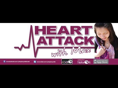 Cyberpinoy Radio's - Heart Attack with Max - Jane of Singapore
