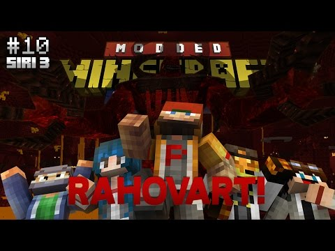 Modded Minecraft Malaysia S3 - E10 - RAHOVART!
