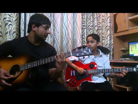 Hai apna dil to awara from Xpoze guitar cover by rio and amit...
