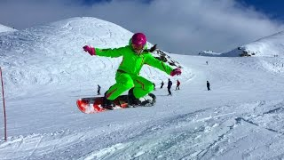 France. Courchevel. Snowboard. Франция. Куршевель. Сноуборд.