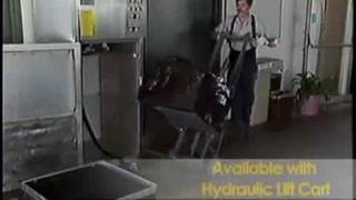 Stainless Steel Commercial Trash Compactor Solves Trash Problems- Power Packer by Harmony