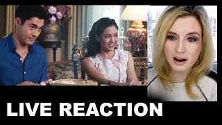 Crazy Rich Asians Trailer REACTION