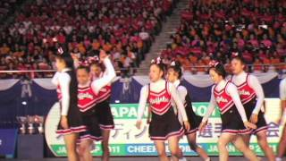 2011 JAPAN CUP チアリーディング日本選手権大会~DIVISION1