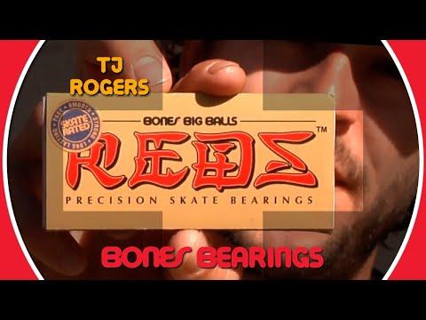 Bones Bearings BIG BALLS - Clip #10 TJ Rogers