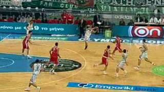 PANATHINAIKOS-OLYMPIAKOS 86-69 PANATHINAIKOS HIGHLIGHTS