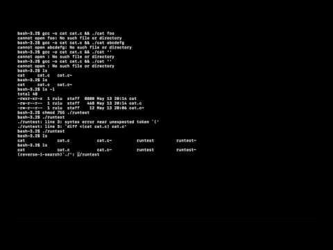 ライブコーディング catコマンド (05月15日 06:01 / 6 users)