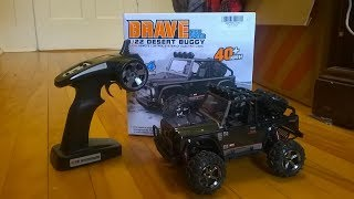 RC Unboxing: Vatos Brave 2.4GHz 4x4 Electric RC Desert Buggy 1/22 (Furry)