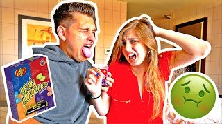 CRAZY BEAN BOOZLED CHALLENGE! **GONE WRONG**