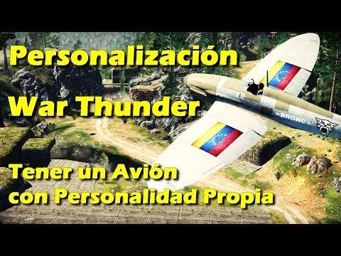 War Thunder - Personalización - Tener un avión con Identidad Propia