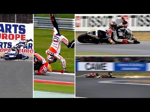 Track action 2013 — biggest MotoGP™ crashes