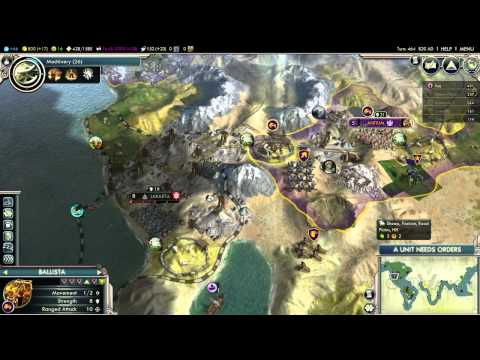 Civilization 5 Ep 25 - You're Mine Now Jakarta!