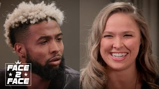 Odell Beckham Jr and Ronda Rousey Play Would You Rather