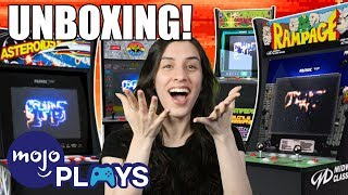 Unboxing ALL 4 Arcade1Up Cabinets! - First Impressions