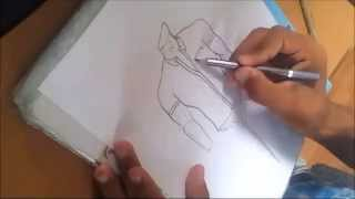 Download How to draw a shirt (colored) | Fashion Design 3Gp Mp4