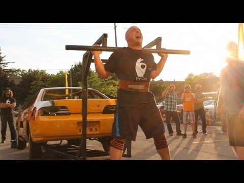 """BEING A BODYBUILDER #33: RYAN """"6-PACK"""" LAPADAT LIFTS FOR SICKKIDS AND JDRF"""