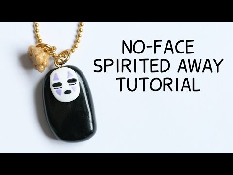No-Face Polymer Clay Tutorial ● Studio Ghibli Collab