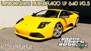GTA 5 Lamborghini Murcielago LP 640 v0.5