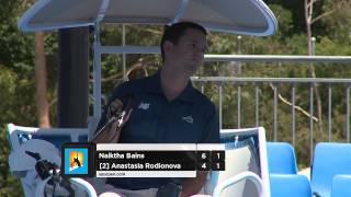 R16: Anastasia Rodionova vs Naithka Bains - Australian Open 2015 Play-off Highlights