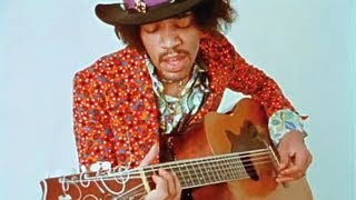 Jimi Hendrix On An Acoustic Guitar Only Known 2 Audio Rare