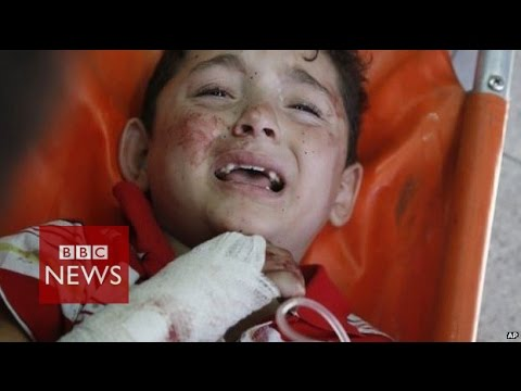 Gaza: Shell hits UN shelter 'killing 15 & injuring over 200 - BBC News
