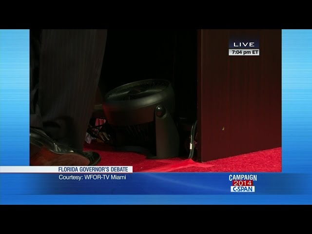 "Florida Governor Debate Delay - ""Fangate"" (C-SPAN)"