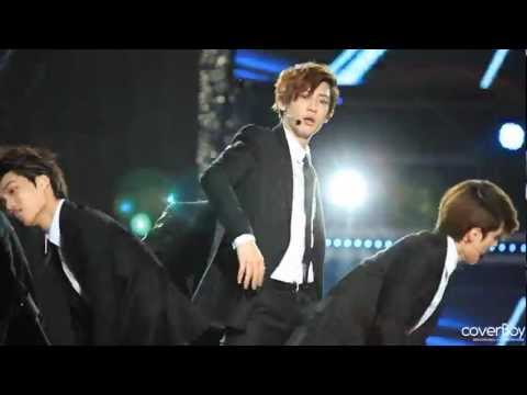 [Fancam] 120512 Dream Concert (Chanyeol Focus) : EXO-K SORRY, SORRY Music Videos
