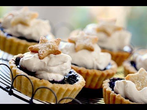 Beth's Blueberry Tartelettes (4th of July Dessert)