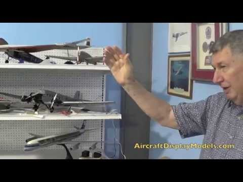 Video 1) Anthony Lawler airline display model collection - Lufthansa Ju-52