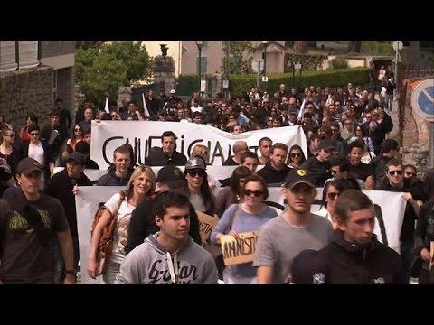 Corse: occupation pacifique de la citadelle de Corte