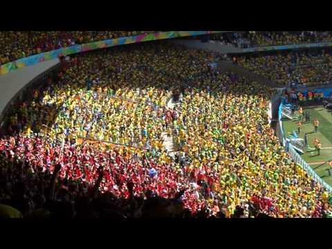 Brazil v. Chile World Cup - Chilean National Anthem