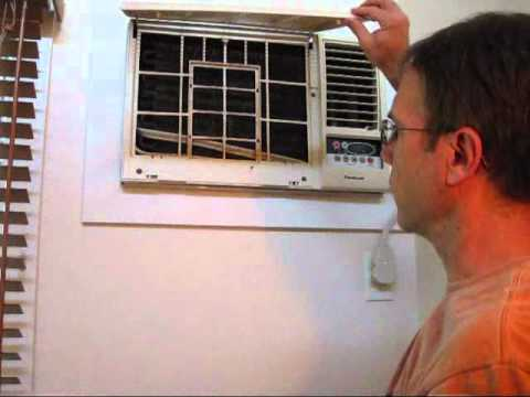 Installing A New Air Conditioner Ac Wall Unit Part 1