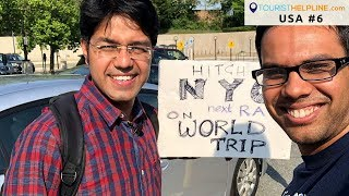 Legal Hitchhiking in USA -2018 | Boston to Washington DC
