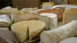 Bourdain finds pleasure in a cheese cart (Anthony Bourdain Parts Unknown)
