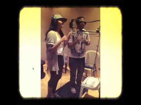 Imran Khan and Sonakshi Sinha Recording Let's Celebrate!