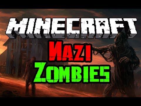 Minecraft: Nazi Zombies - NEW SERVER + RANTING