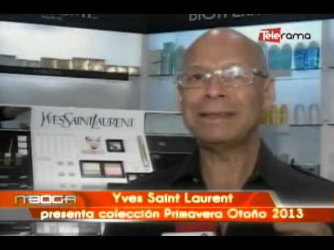 Yves Saint Laurent presenta colección Primavera Otoño 2013